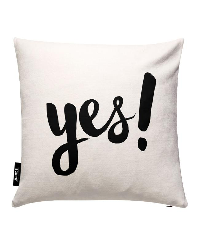 Yes Cushion Cover