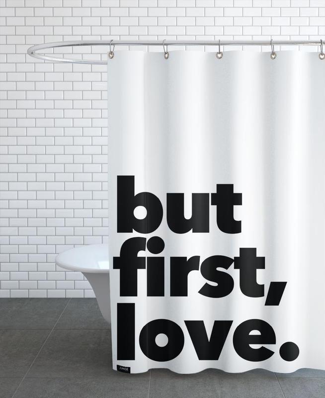 first love Shower Curtain