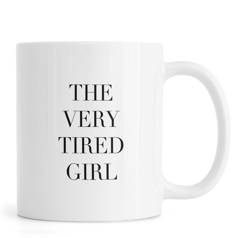 Tired Girl Mug