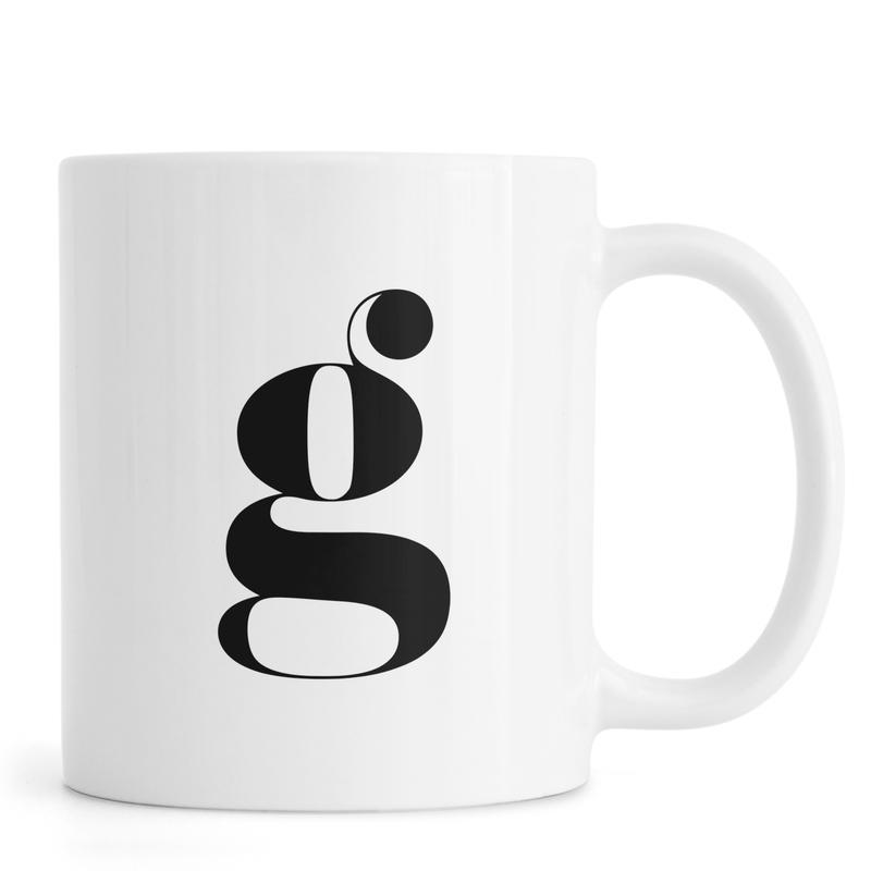 G Letter Mug