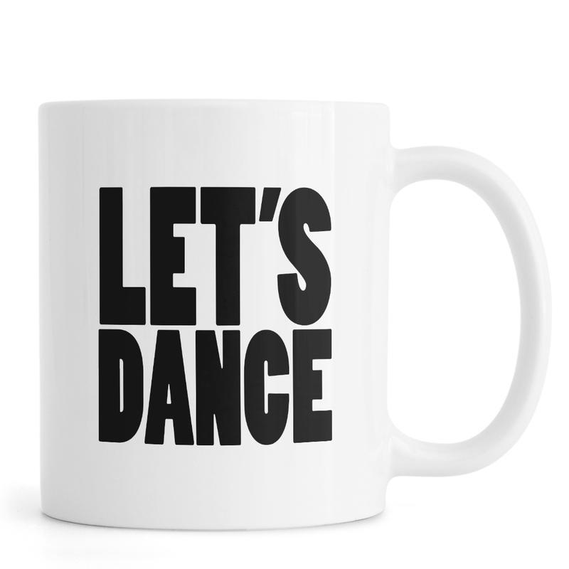 Noir & blanc, David Bowie, Citations et slogans, Lets Dance mug