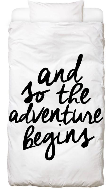 Adventure Begins Bed Linen