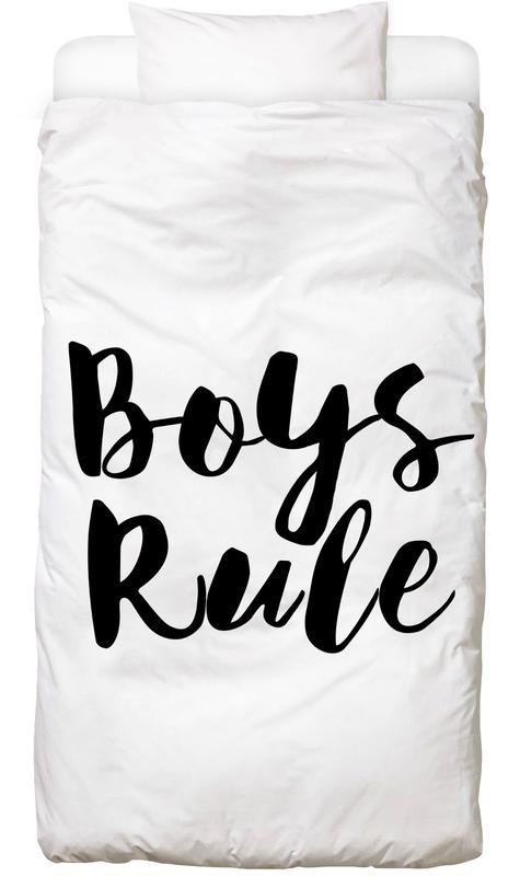 Boys Rule Bed Linen
