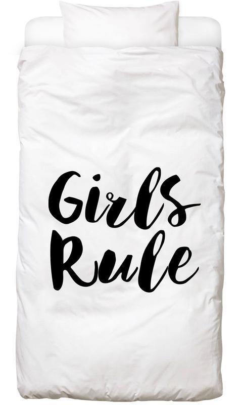 Girls Rule -Kinderbettwäsche