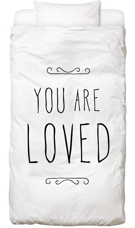 You Are Loved Kids' Bedding