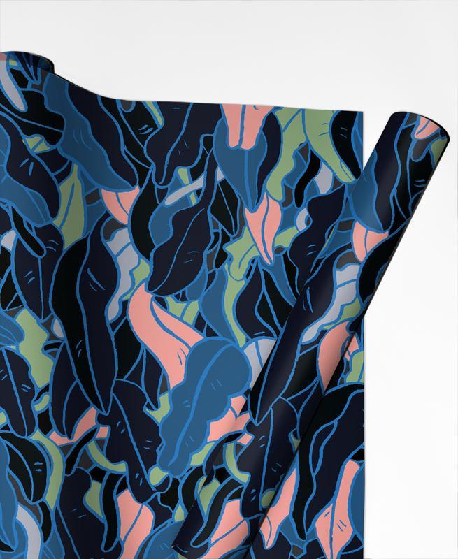 Feuilles & Plantes, Under the Sea papier cadeau
