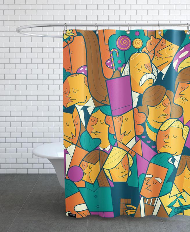 Willy Wonka Shower Curtain
