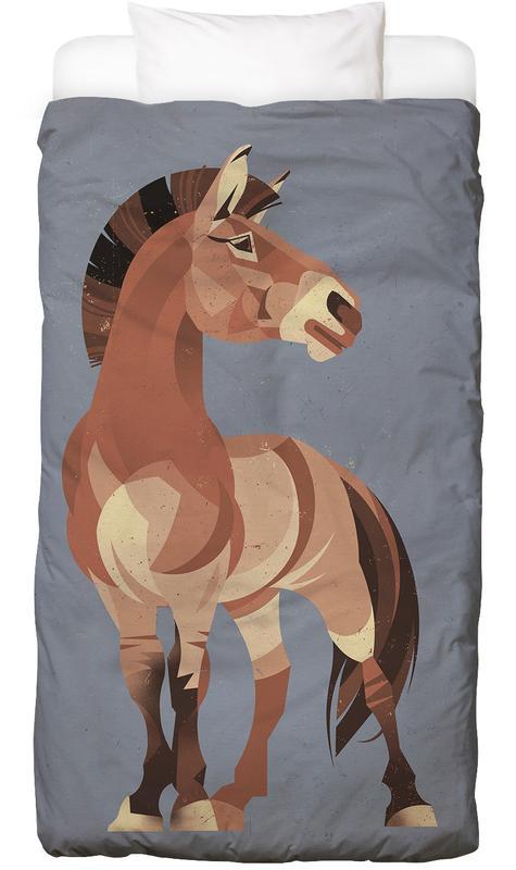 Chevaux, Horse housse de couette enfant