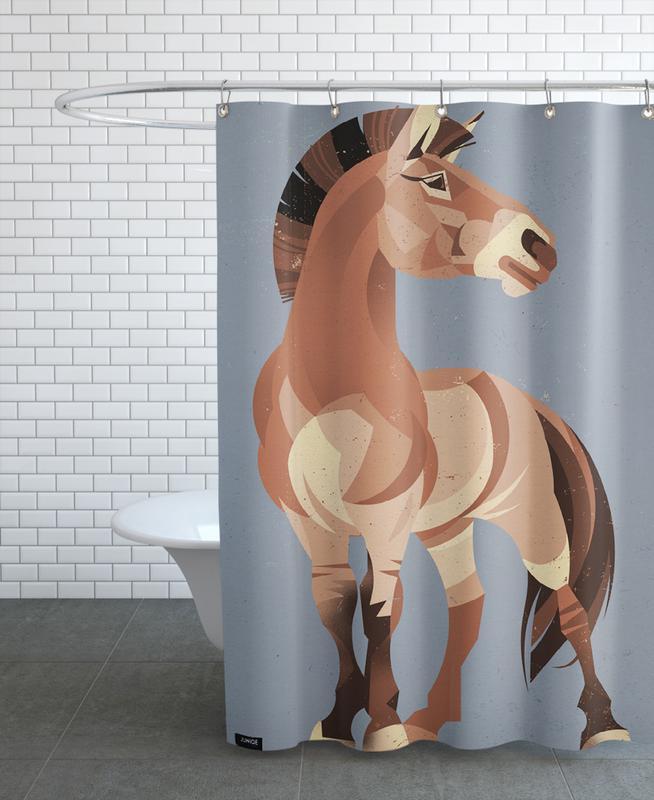 Pferde, Horse -Duschvorhang