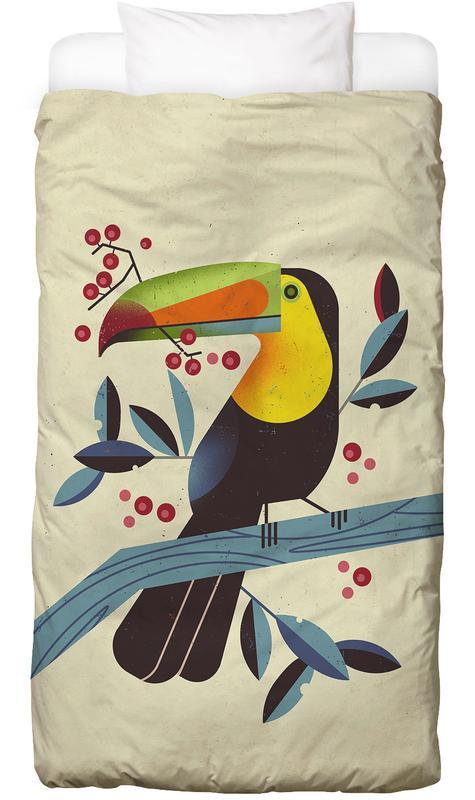 Toucan II -Kinderbettwäsche