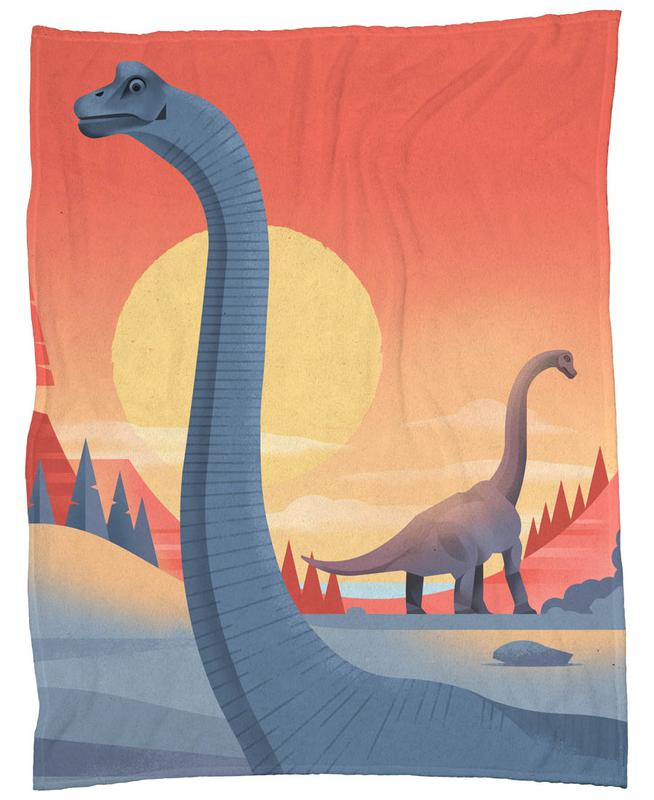 Brachiosaurus Fleece Blanket