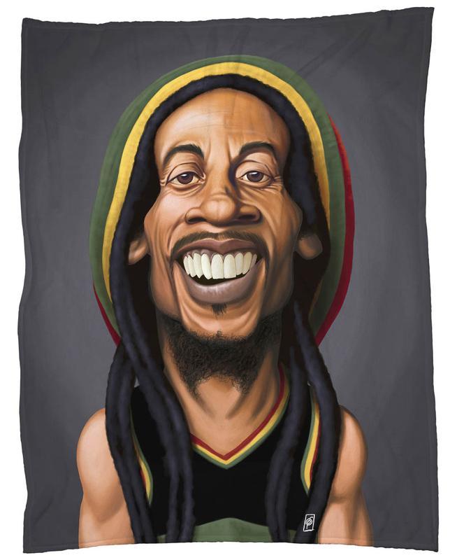 Bob Marley -Fleecedecke