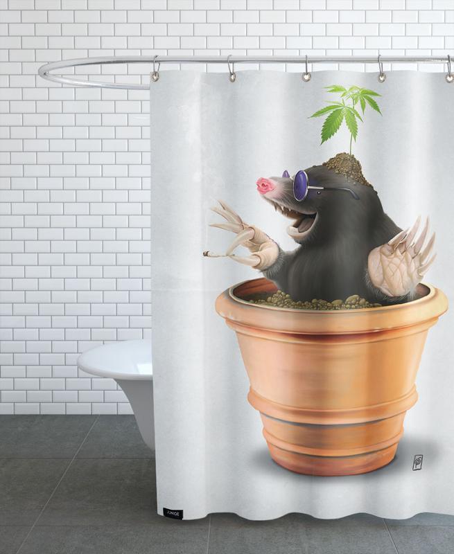 Lustig, Pot (Wordless) -Duschvorhang