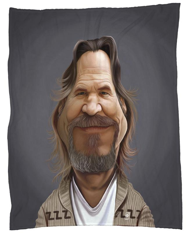 Jeff Bridges plaid