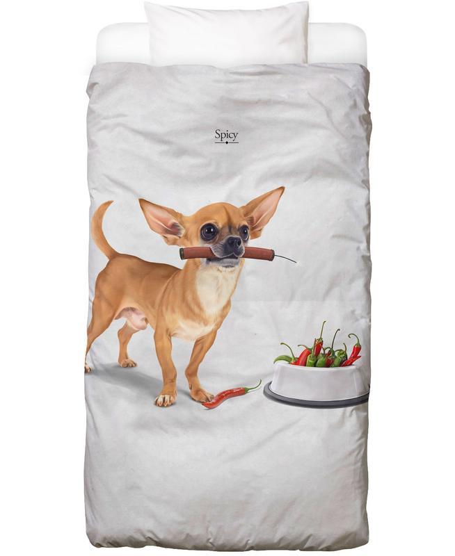 Hunde, Lustig, Spicy Bettwäsche