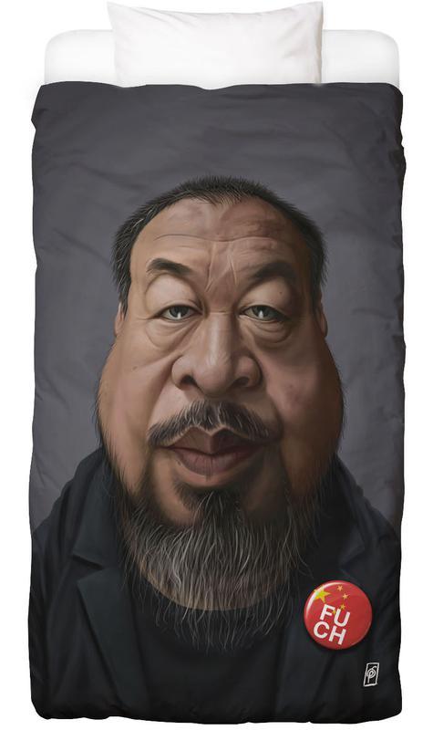 Portraits, Ai Weiwei Linge de lit
