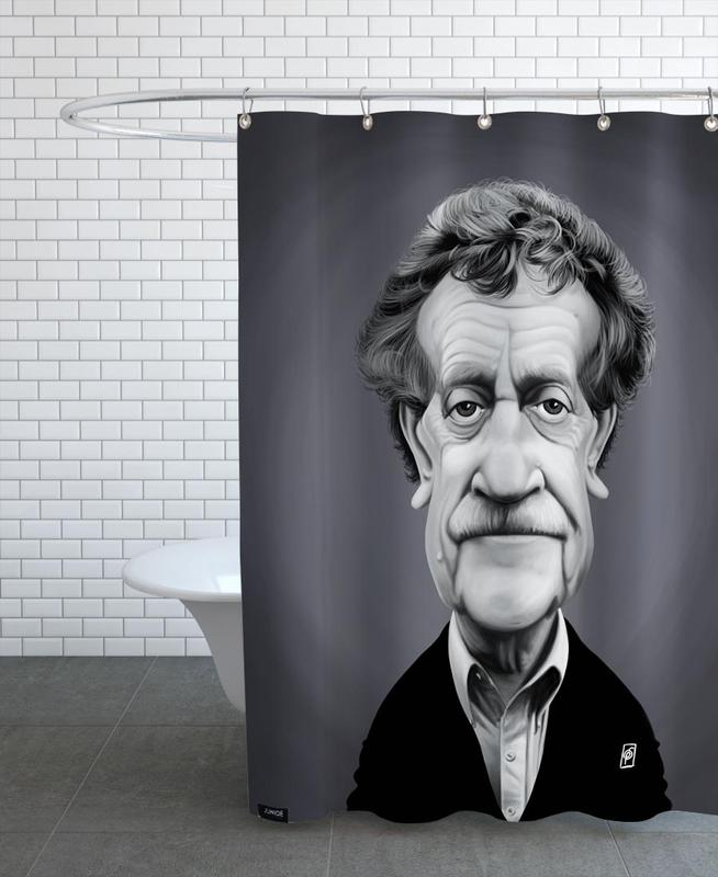 Kurt Vonnegut Shower Curtain