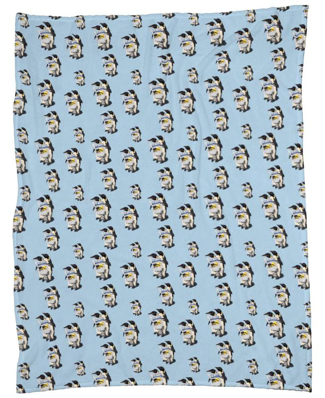 Read All Over (colored) Fleece Blanket