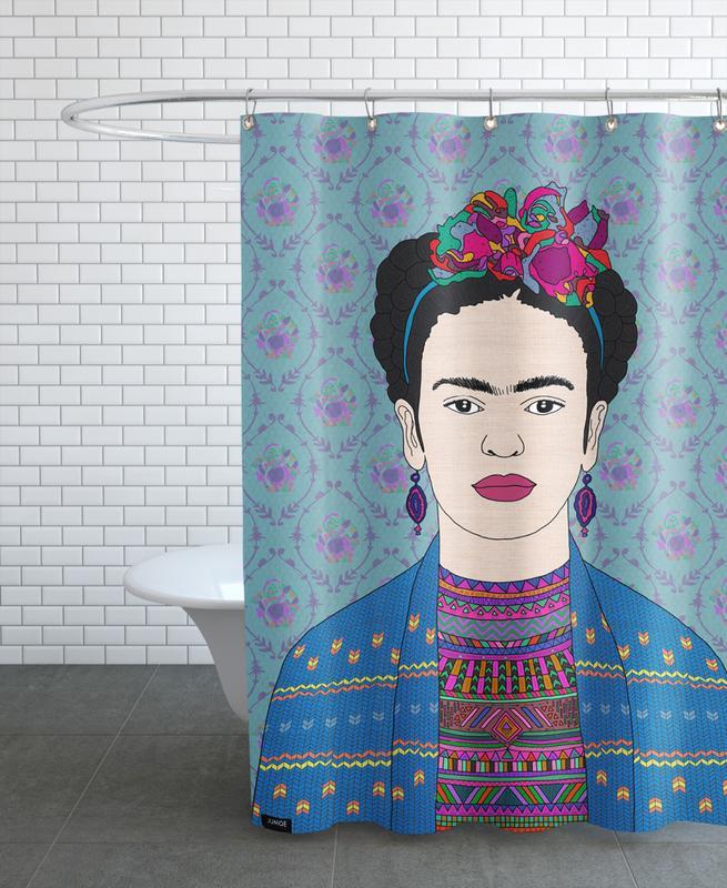 Frida Kahlo -Duschvorhang