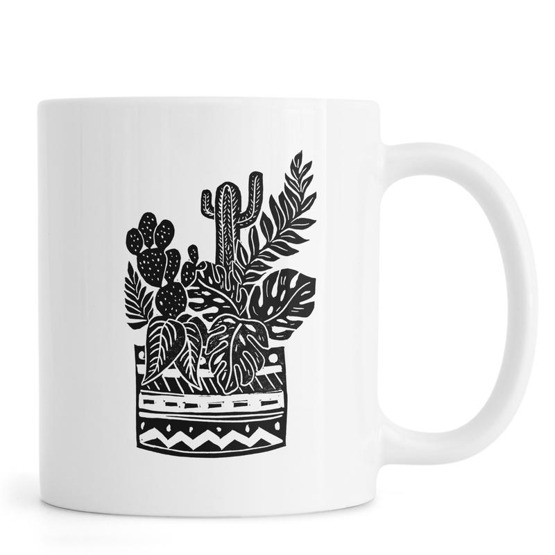 Botanical Pot -Tasse