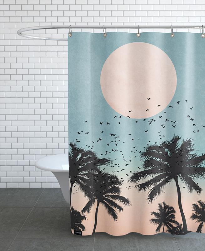 Palms, Sunsets, Sunrise Shower Curtain