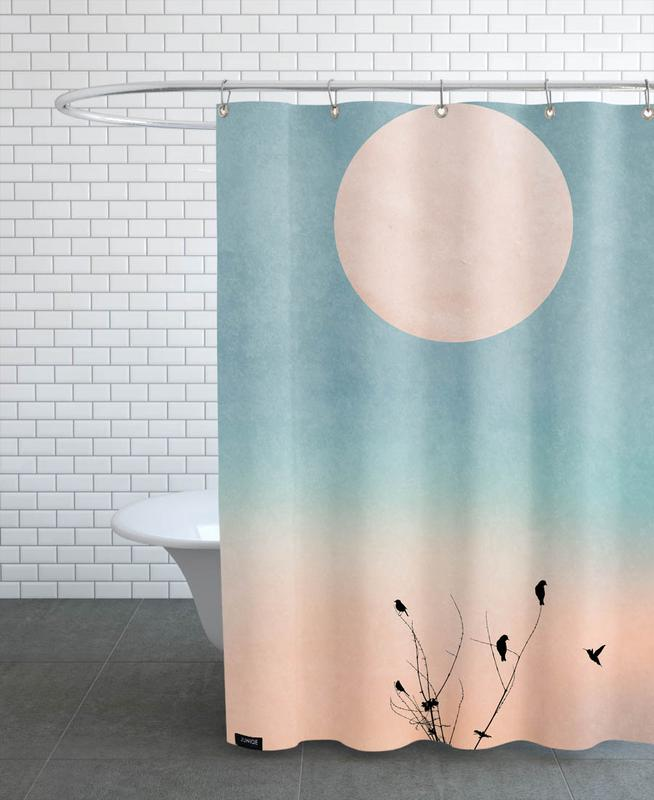 Sunsets, Waking Up Warm Shower Curtain