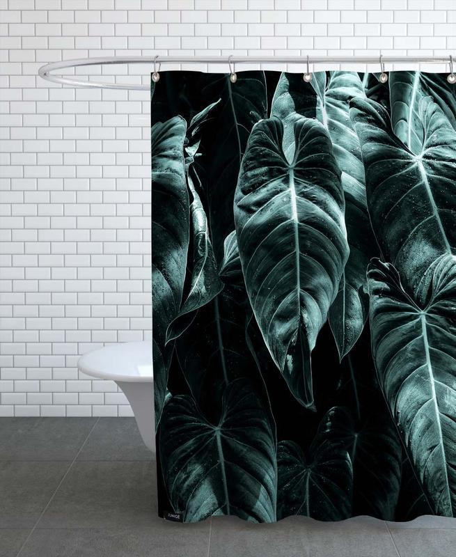 Leaves & Plants, Côte d'Azur Shower Curtain