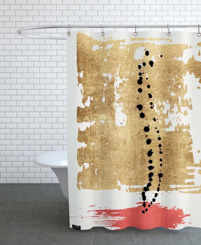 , Drip Drop Shower Curtain