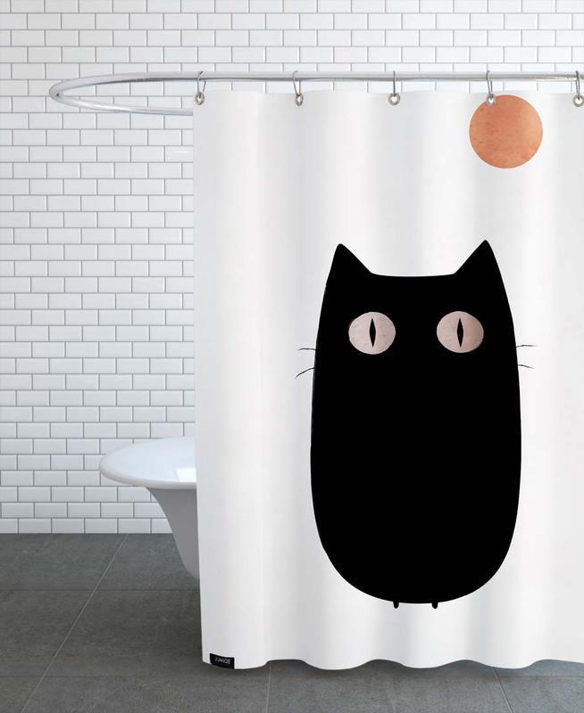 Cats, Nursery & Art for Kids, Meow Shower Curtain