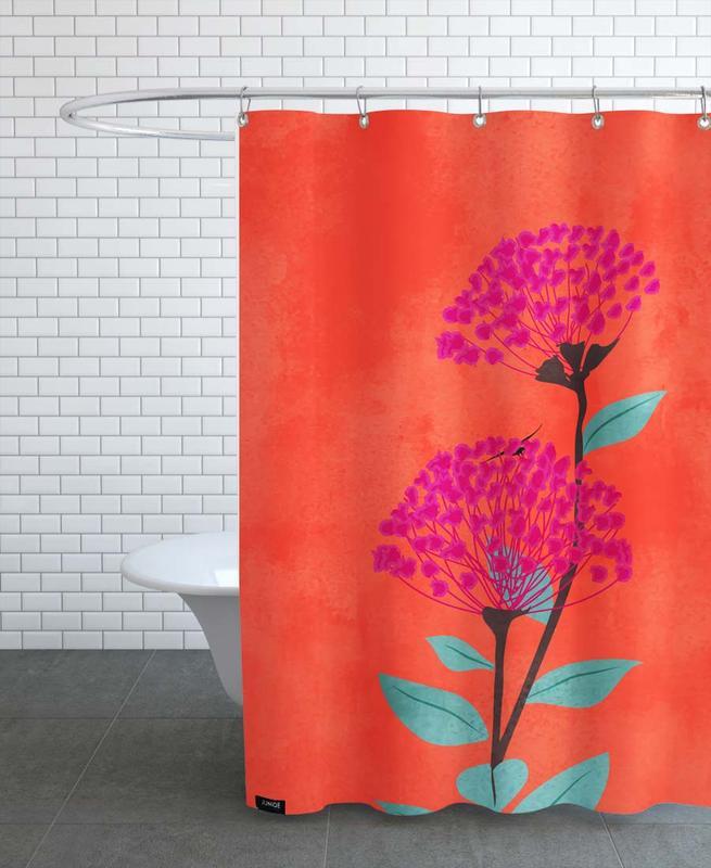 , Warm Sunset Shower Curtain