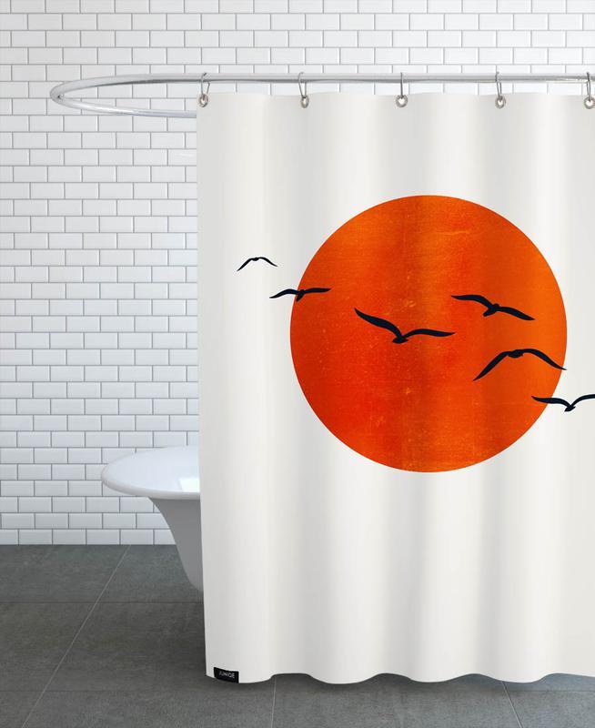 , A Sunny Day Shower Curtain