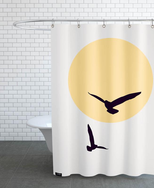 , In The Sky Shower Curtain