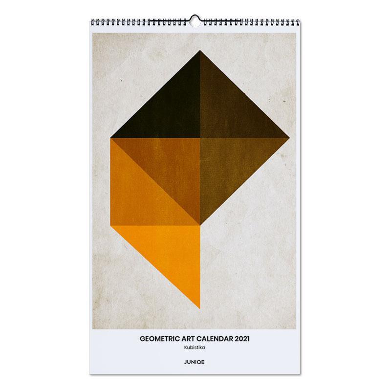 , Kubistika - Geometric Art Calendar 2021 wandkalender