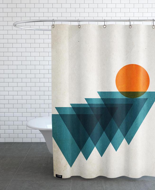 , Apfelsine Shower Curtain