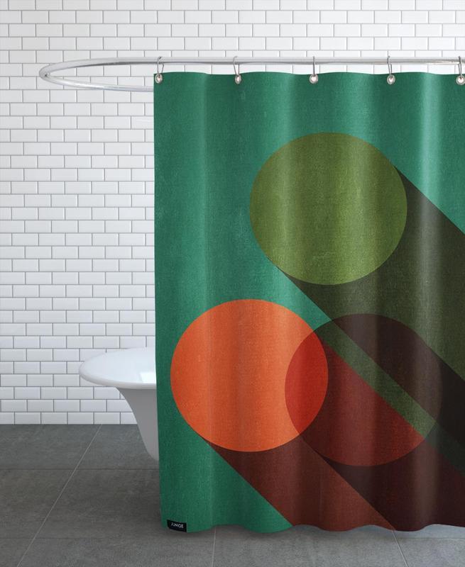 , Dreier Shower Curtain