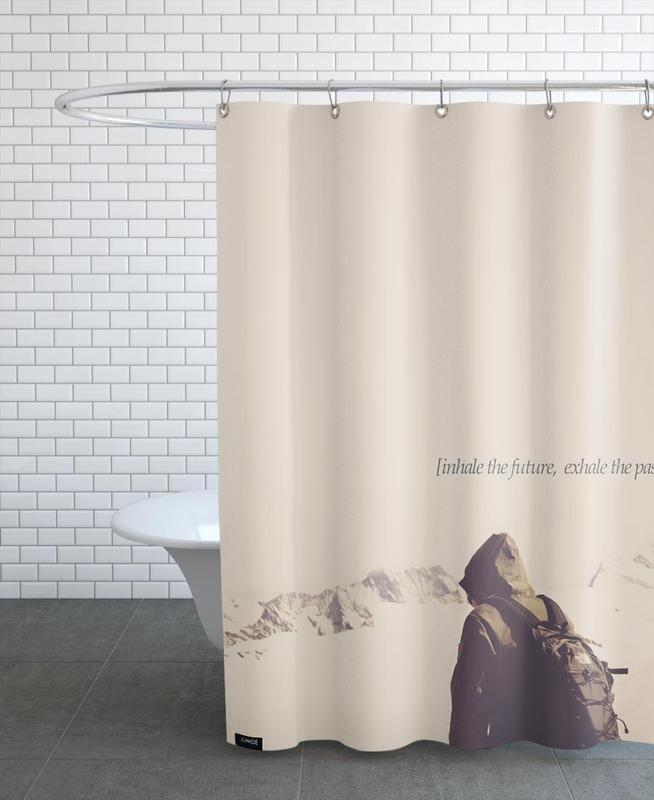 Future And Past Shower Curtain