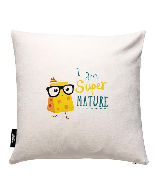 Super Mature Cushion Cover