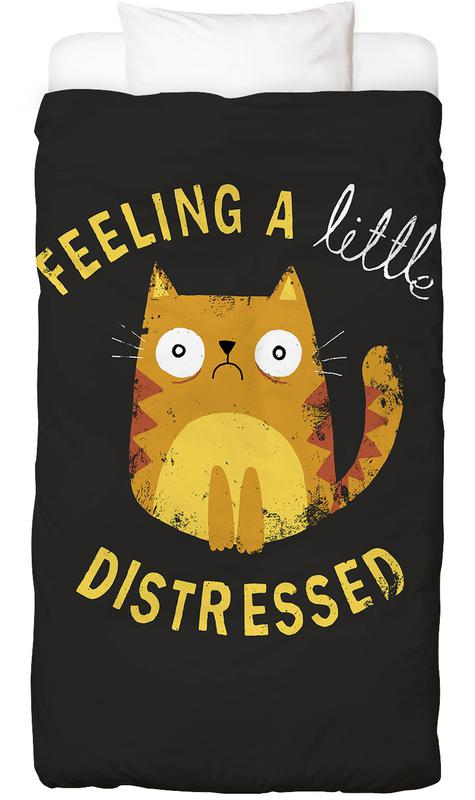 Zitate & Slogans, Katzen, A Little Distressed Bettwäsche