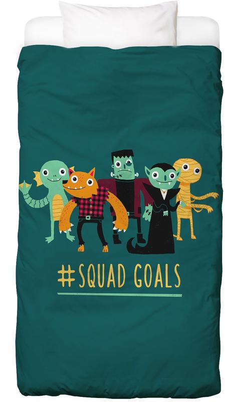 Funny, Squad Goals Bed Linen