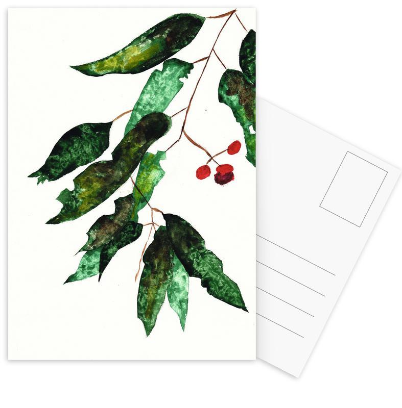 Autumn Berry 1 Postcard Set