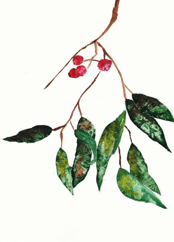 Autumn Berry 2 Canvas Print