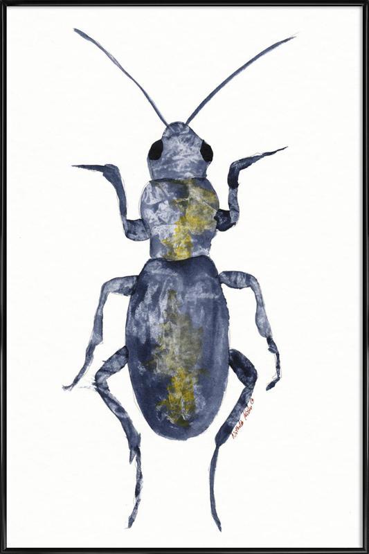 Hello Beetle Framed Poster