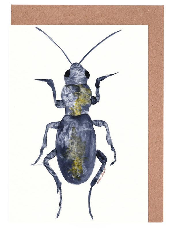 Hello Beetle Greeting Card Set