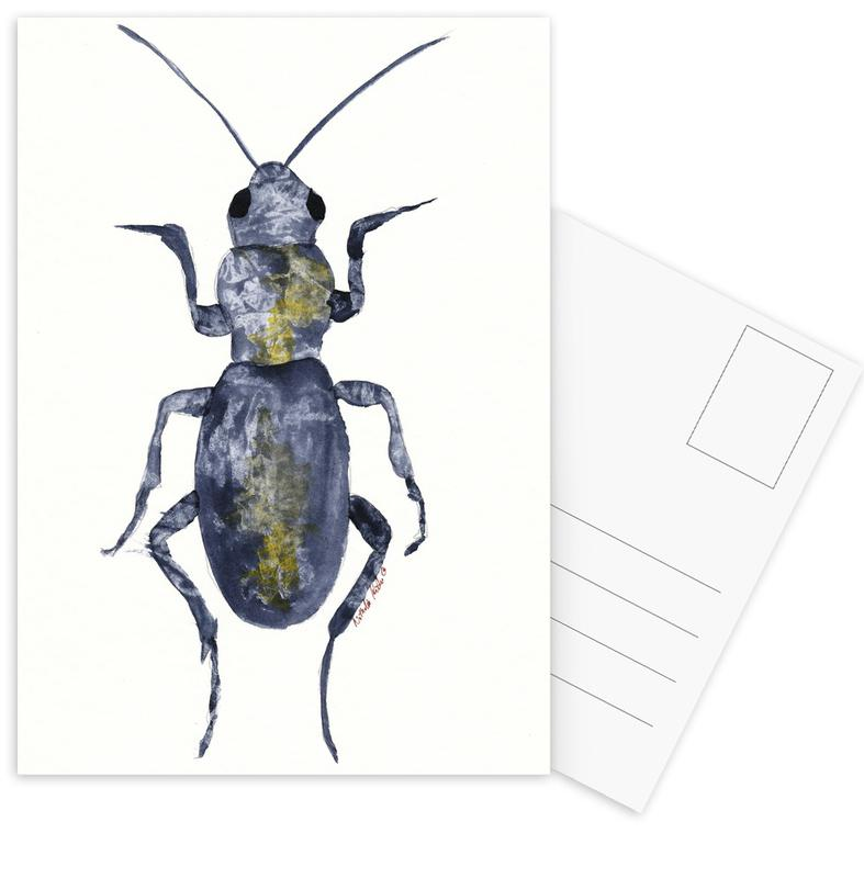 Hello Beetle Postcard Set
