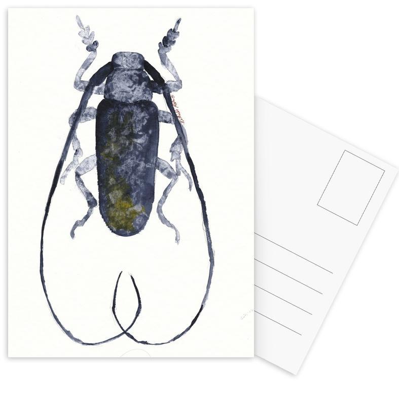 Jack The Beetle Postcard Set