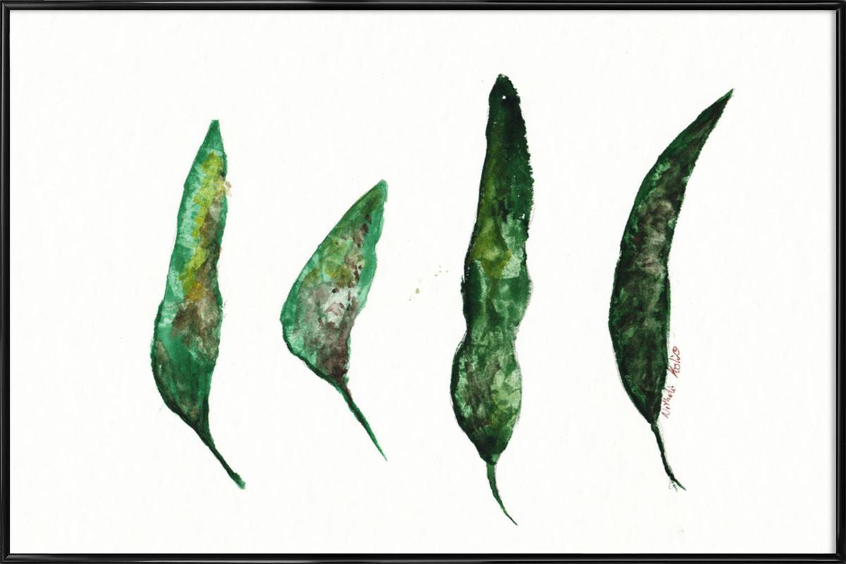 All My Leaves Framed Poster