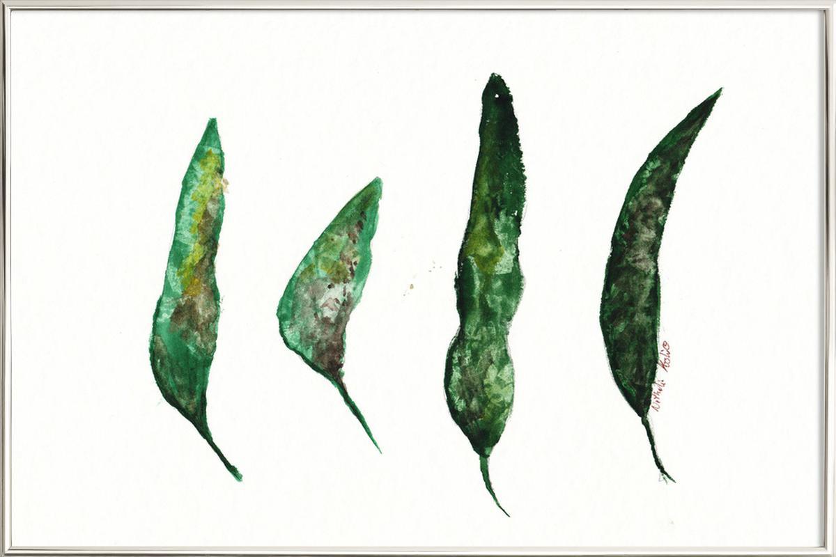 All My Leaves -Poster im Alurahmen