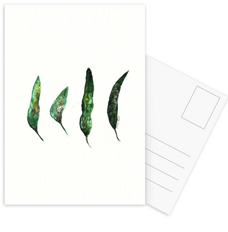 All My Leaves Postcard Set