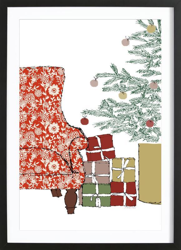 Happy Christmas Time Framed Print