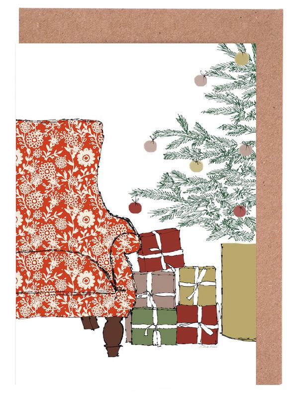 Happy Christmas Time Greeting Card Set